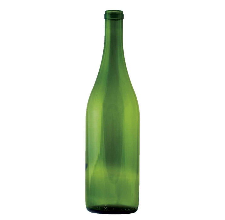 750 milliliter Green Burgundy Bottle