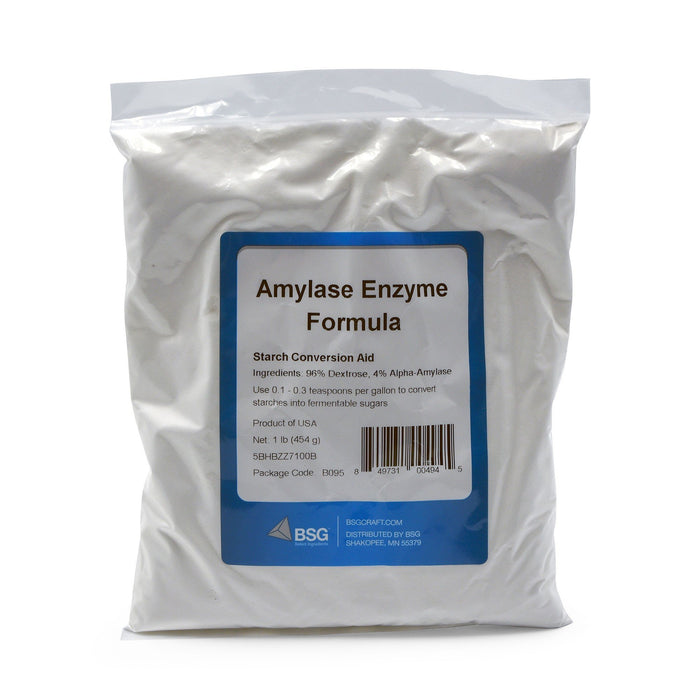 1 pound bag of Amylase enzyme formula