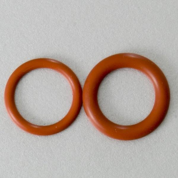 Two O-rings for a Cooler Bulkhead