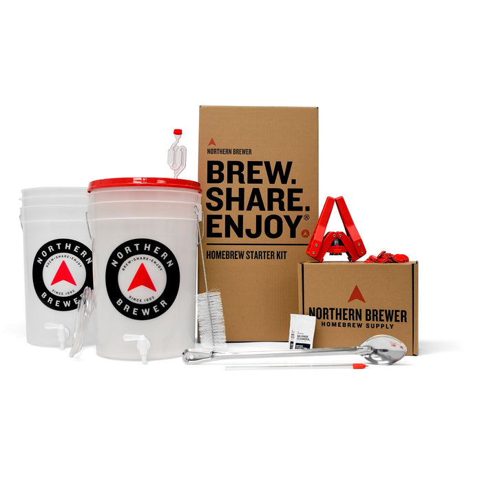 Essential Brew Share Enjoy Homebrew Starter Kit