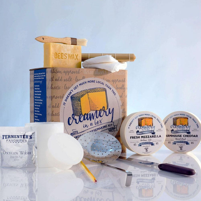 Creamery In A Box® Essential Cheesemaking Starter Kit