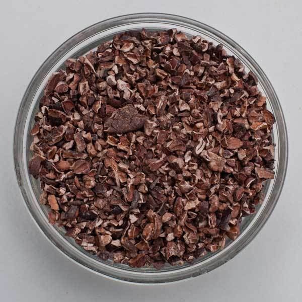 Bowl of Cacao Nibs from Ecuador