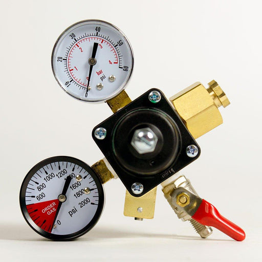 Dual Gauge CO2 Regulator