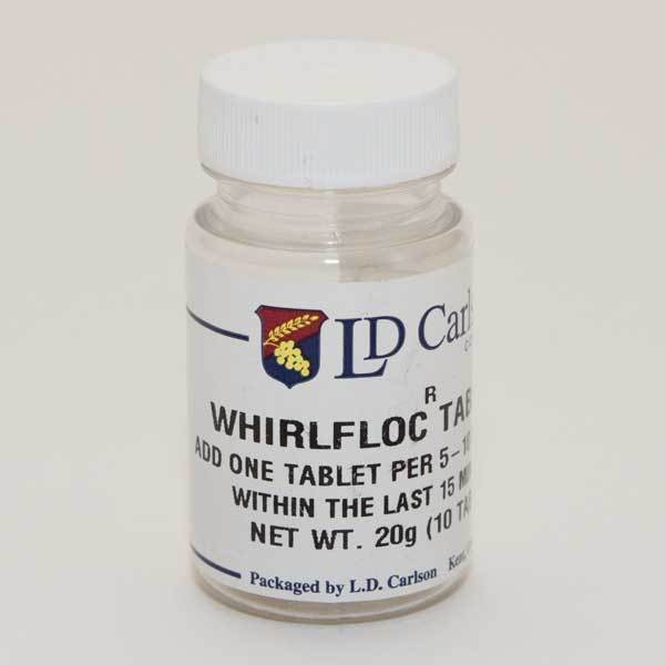 Whirlfloc Tablets - 10 count