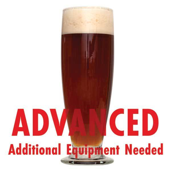 "Festivus Miracle Holiday homebrew with an All-Grain caution: ""Advanced, additional equipment needed"""