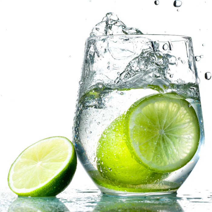 Hard Seltzer with limes
