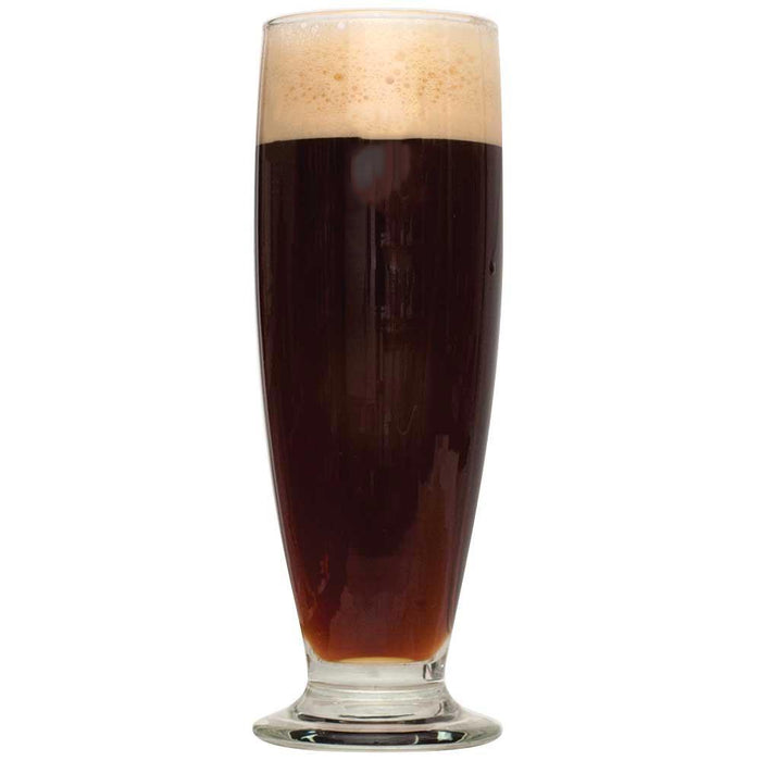 Pilsner Obscura Schwarzbier All Grain Recipe Kit in a glass