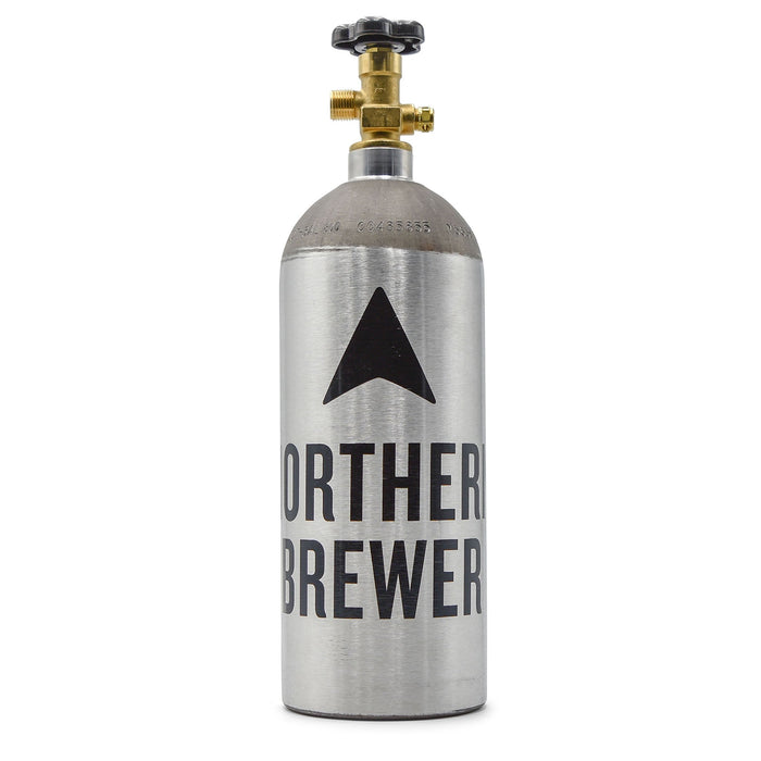 5-pound CO2 Tank with the northern brewer logo
