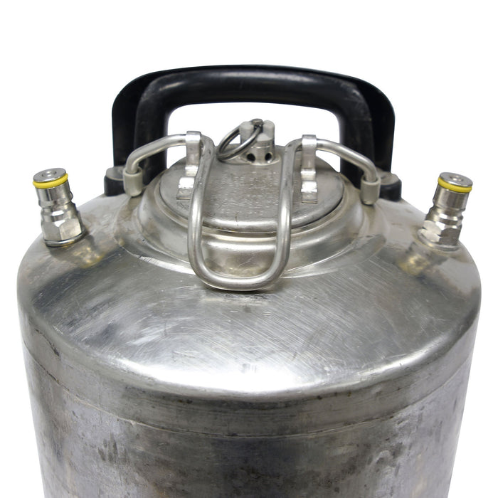 Reconditioned Ball Lock Keg Detailed Image
