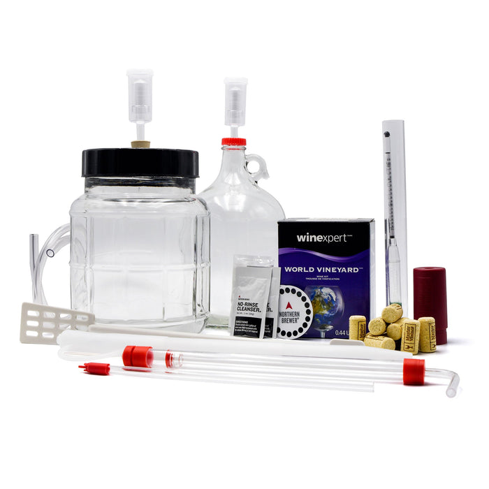 Small Batch Wine Making Starter Kit - Master Vintner®