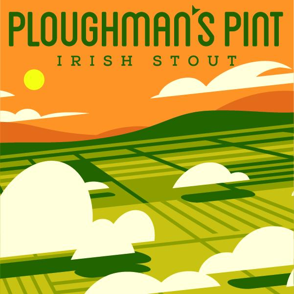 Ploughman's Pint Irish Stout BYOB Recipe Kit