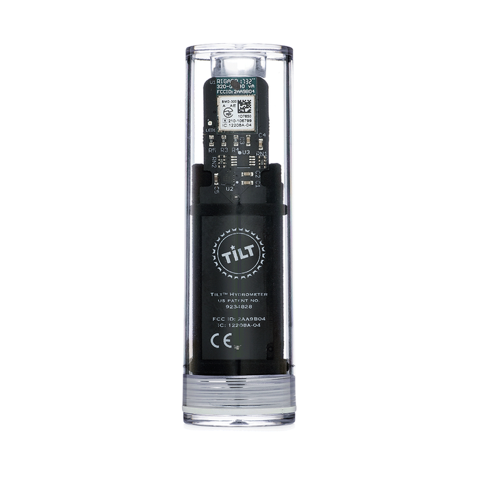 The black Tilt Digital Hydrometer and Thermometer