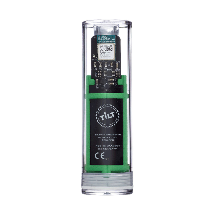 The green Tilt Digital Hydrometer and Thermometer