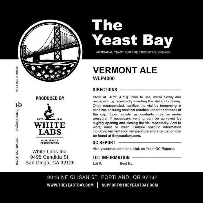 The Yeast Bay Vermont ale logo