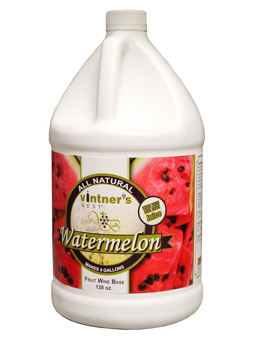 Vintner's Best® Watermelon Fruit Wine Base in a 128-ounce container