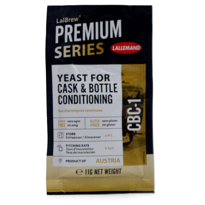 LalBrew CBC-1 Cask and Bottle Conditioning Ale Yeast sachet
