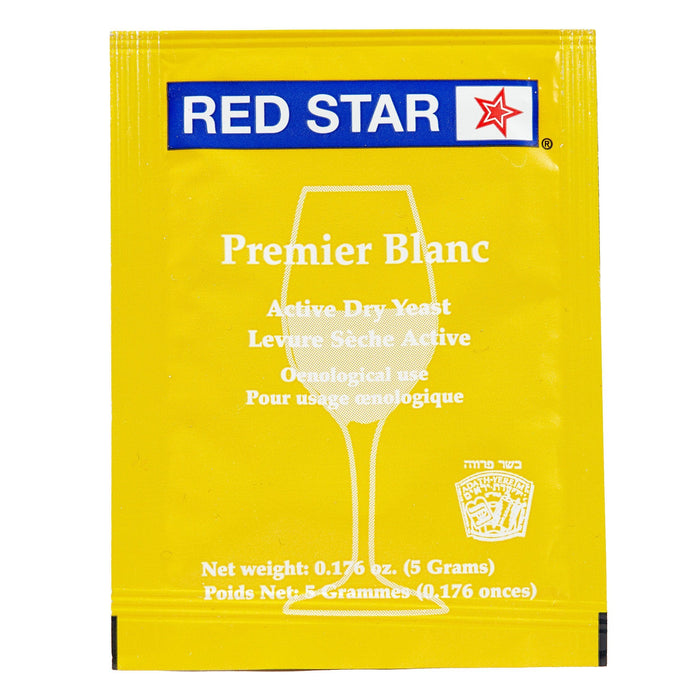 red star premier blanc yeast front