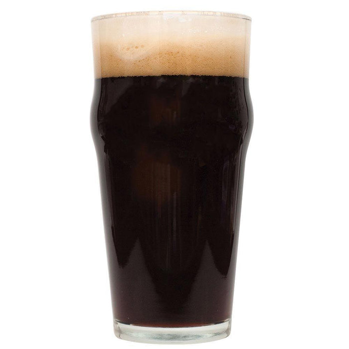Oatmeal Stout in a glass