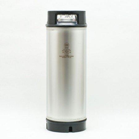 Draft Brewer® New 5 Gallon Ball Lock Keg - Dual Rubber Handle
