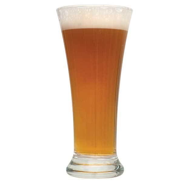 A glass filled with Danube Driftin' Vienna Lager