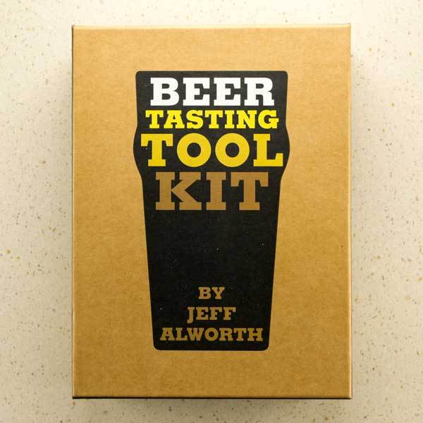 Front cover of The Beer Tasting Tool Kit by Jeff Alworth