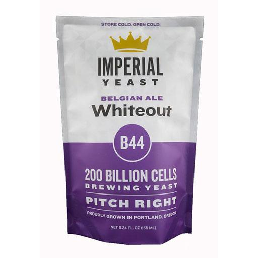 Imperial Yeast B44 Whiteout's container