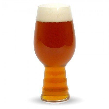 The Plinian Legacy Double IPA in a glass