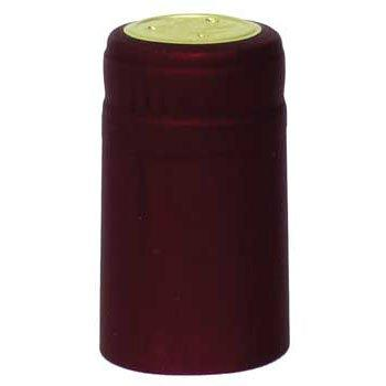 Burgundy PVC Shrink Capsules - 62 ct.