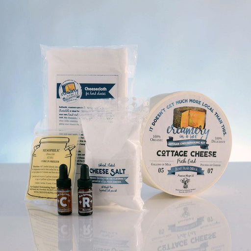 Creamery In A Box® Cottage Cheese Recipe Kit