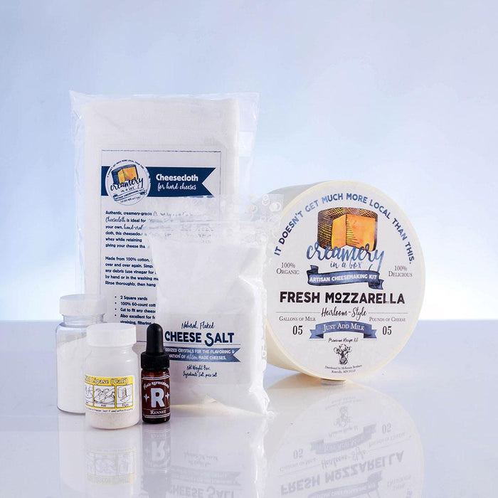 Creamery In A Box® - Mozzarella Recipe Kit