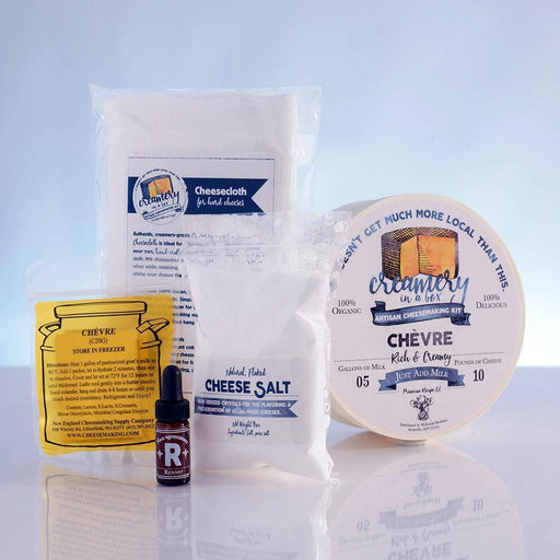 Creamery in a Box® - Fresh Chevre Recipe Kit