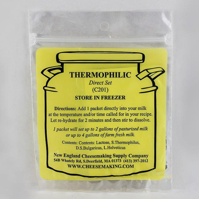 Packet of Direct-Set Thermophilic Cheesemaking Starter Culture C201