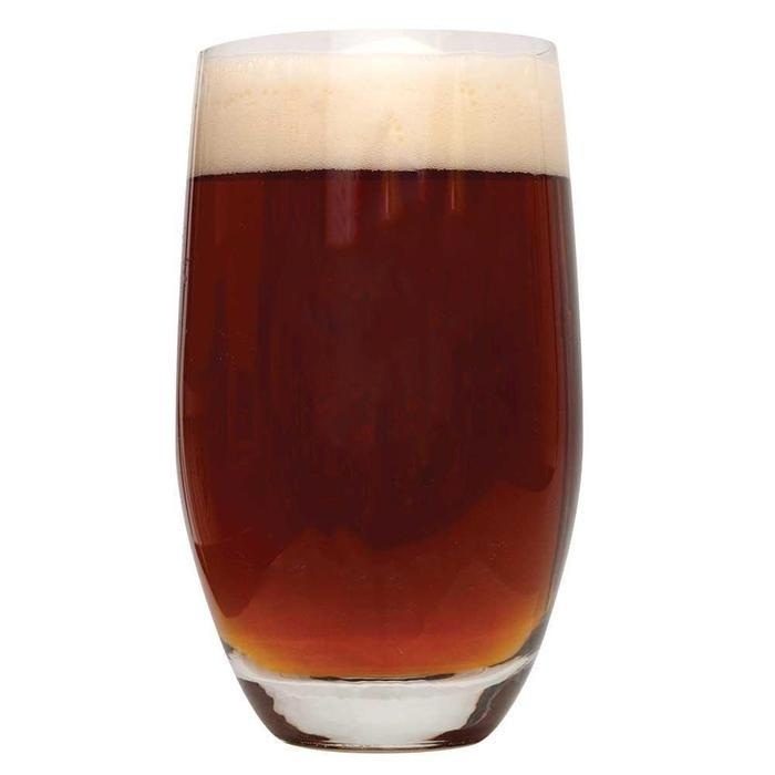 Honey Brown Ale in a glass