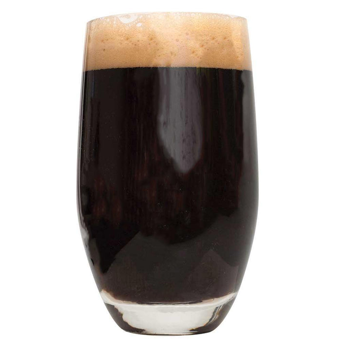 Full glass of Dragon Silk Imperial Stout
