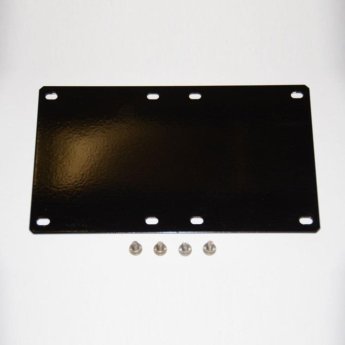 The Tower of Power Dual Controller Mounting Plate with four screws
