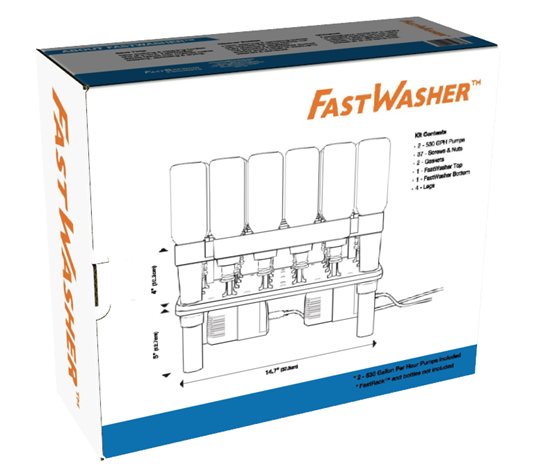 The FastWasher box