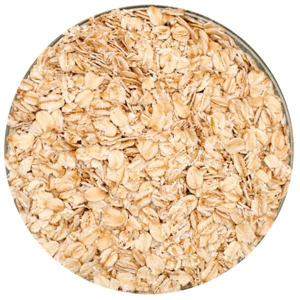 Flaked Oats - 1 lb. unmilled or bulk 50 lb sack