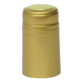 Gold PVC Shrink Capsules - 62 ct.