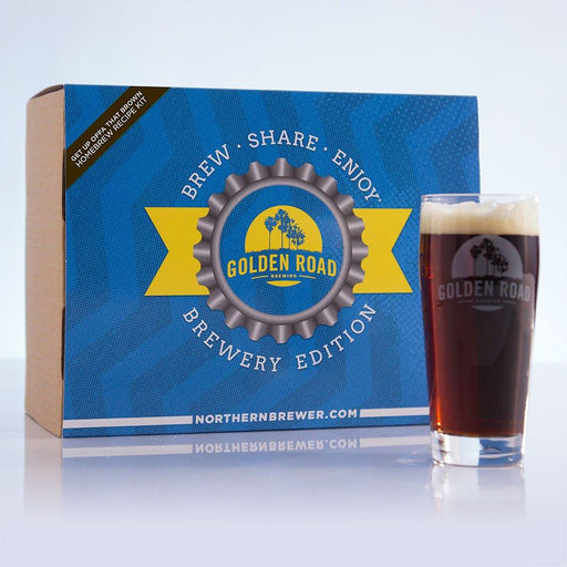 Golden Road Brown Ale Extract Recipe Kits