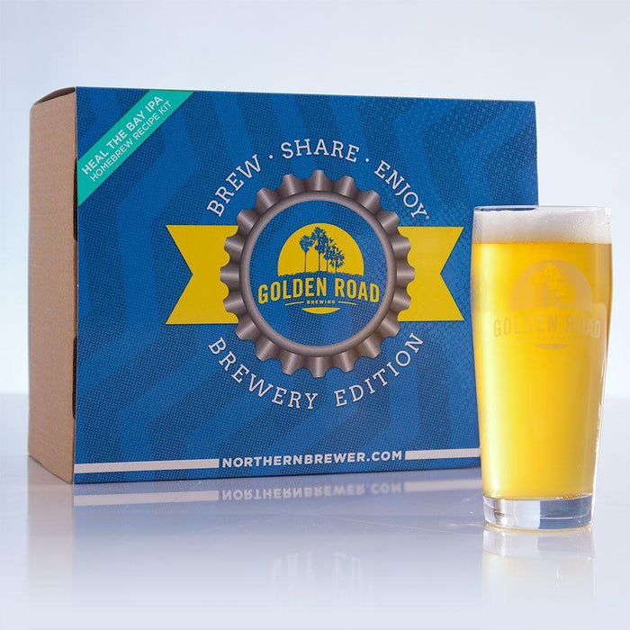 Golden Road's Heal the Bay IPA Brewery Edition homebrew and recipe kit