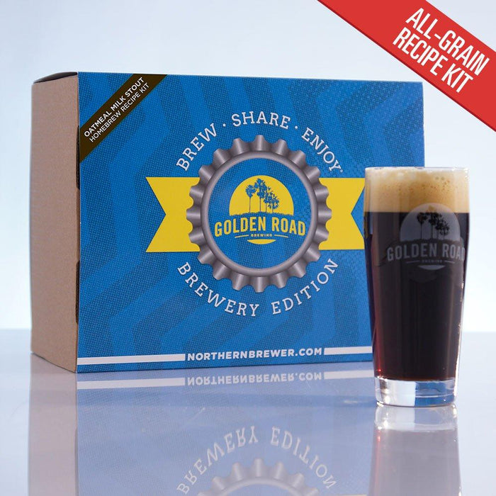 Golden Road - Oatmeal Milk Stout Brewery Edition All-Grain Kit