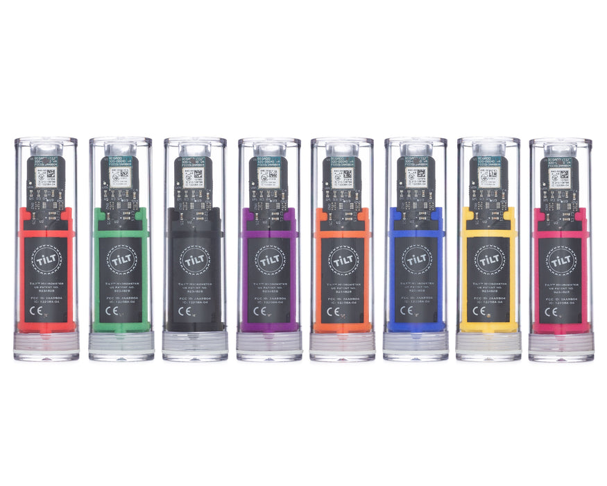 8 Different Tilt Wireless Hydrometer Colors Available