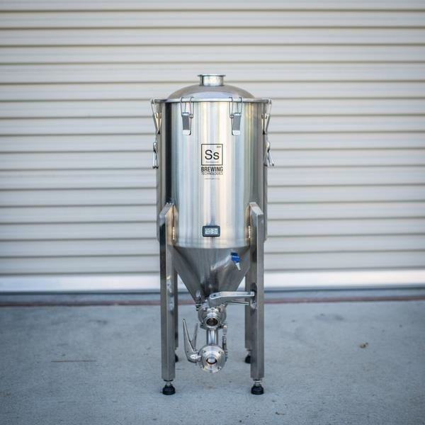 The 14-gallon Ss Brewtech Brewmaster Chronical Fermenter