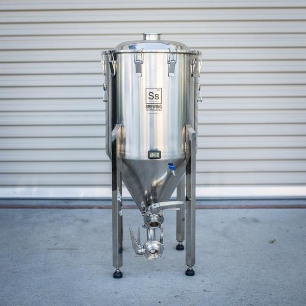 The Half-barrel Ss Brewtech Brewmaster Chronical Fermenter