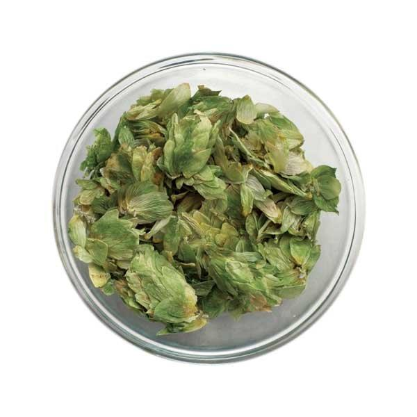 Small bowl of Mosaic Leaf Hops