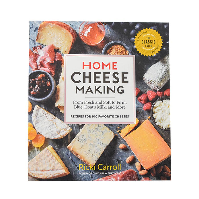 Home Cheese Making Book by Ricki Carroll- Recipes for 100 Favorite Cheeses