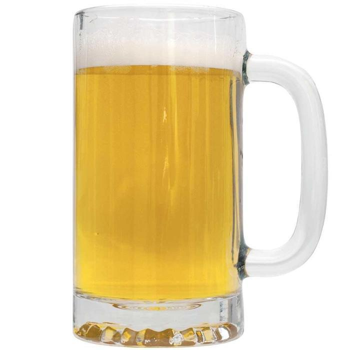 A mug of American Wheat homebrew