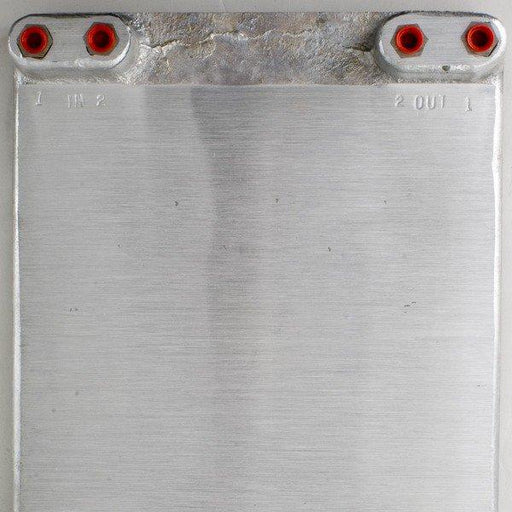 Cold plate, 2 circuit