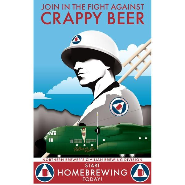 Civilian Brewing Division Poster - Fight