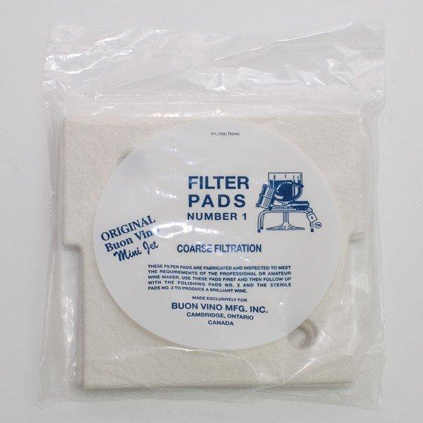 Mini Jet Filter Pads - #1 Coarse 3 count